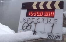 Offisielt bilde fra «SPECTRE»-innspillingen