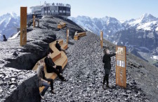 The 007 Walk of Fame opens on the Schilthorn