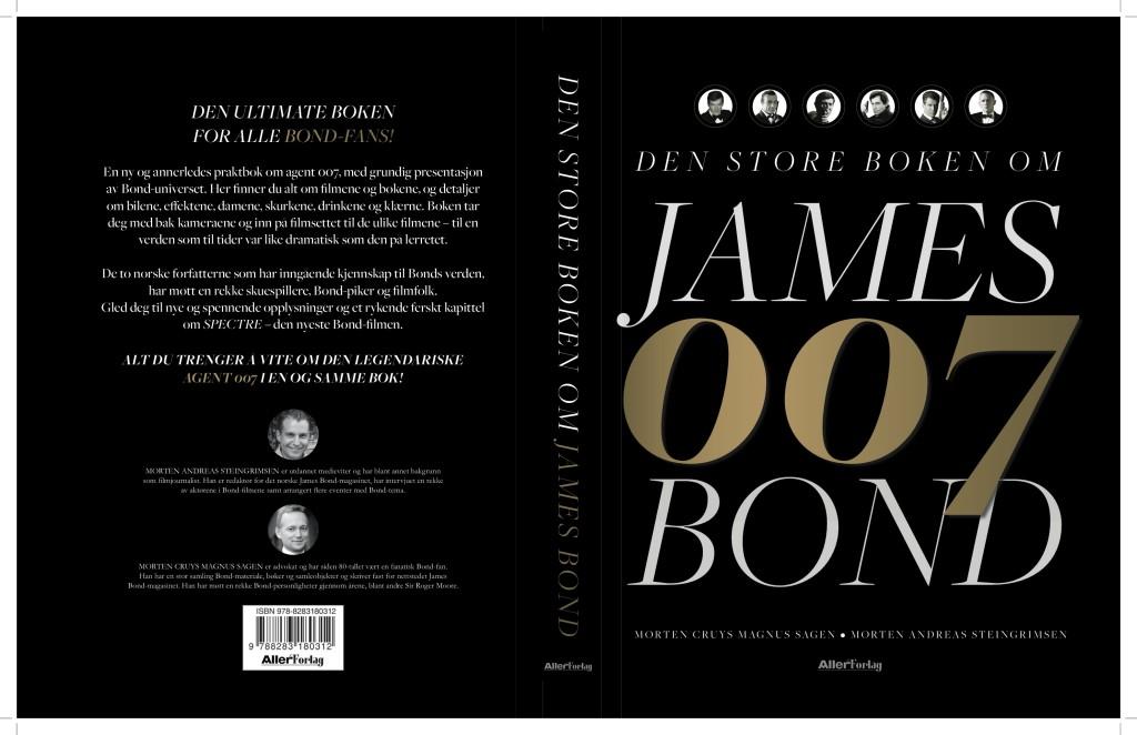 Omslag Den store boken om James Bond