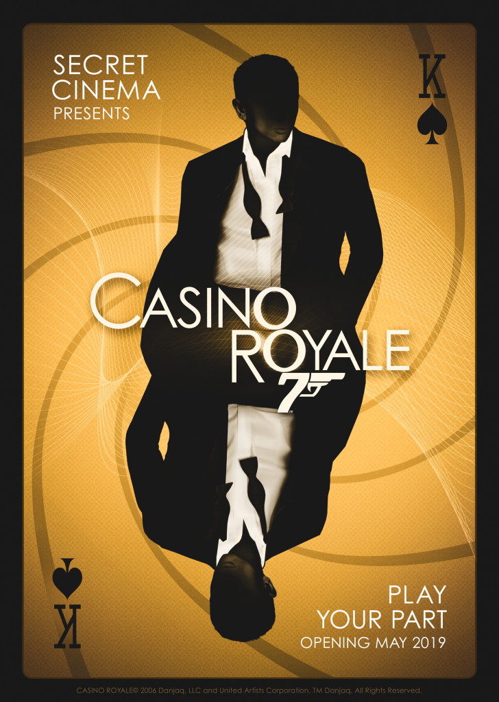 Secret Cinema Presents Casino Royale - POSTER ARTWORK